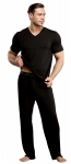 Male Power Lounge Shirt Black