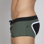 Timoteo Long Board Swim Army Green