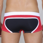 Timoteo Long Board Swim Red