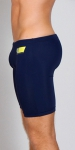 Timoteo Workout Legging Short Navy/Sky Blue