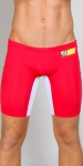 Timoteo Workout Legging Short Red/White