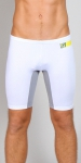 Timoteo Workout Legging Short White/Silver
