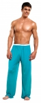 Magic Silk Lounge Pant Turquoise