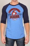 Timoteo Champion Raglan T-Shirt Blue