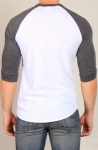 Timoteo Champion Raglan T-Shirt White