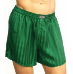 Mansilk Stripe Jacquard Boxer English Ivy