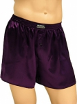 Mansilk Satin Boxer Mulberry