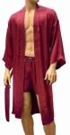 ManSilk Silk Paisley Jacquard Robe