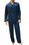 ManSilk Silk Paisley Jacquard Pajama Set