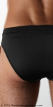 Mansilk Silk Knit Brief Black