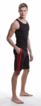 Комплект N2N Bodywear Sport Long Short + Tank Black