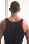 Timoteo Hero Loungewear Tank Top Black
