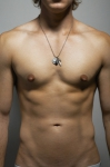 Timoteo Dagger Ball Chain Necklace Silver