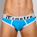 Timoteo Classic Super-Low Brief Turquoise