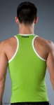 Whittall & Shon Contrast Tank Lime
