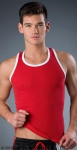 Whittall & Shon Contrast Tank Red
