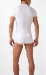 2xist Form Slimming V-Neck White