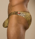 Cocksox Swim Brief Leopard